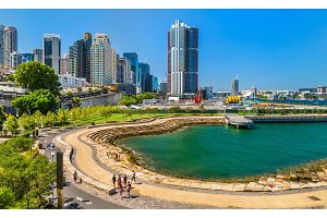 Nawi Cove in Barangaroo district of Sydney, Australia