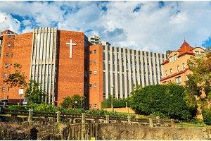 St Aloysius College, a Catholic school for boys in Kirribilli near Sydney - Australia