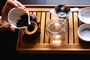 Beginning of the Tea ceremony