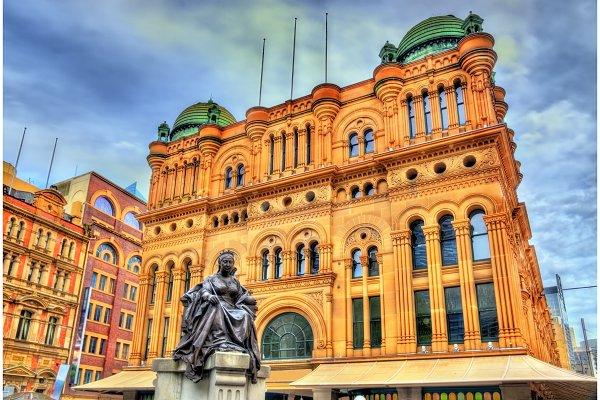 Queen Victoria Building in Sydney…