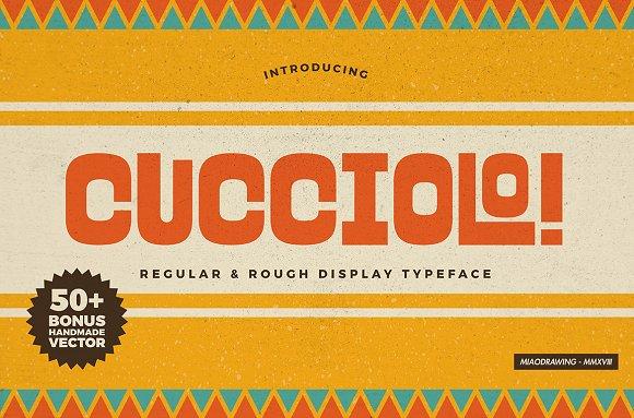 Cucciolo Typeface Extras