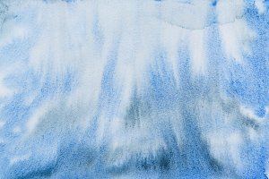 Blue black watercolor abstraction