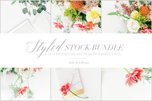 Colorful Floral Stock Photo Bundle