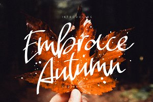 Embrace Autumn