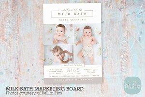 IY005 Milk Bath Marketing Board