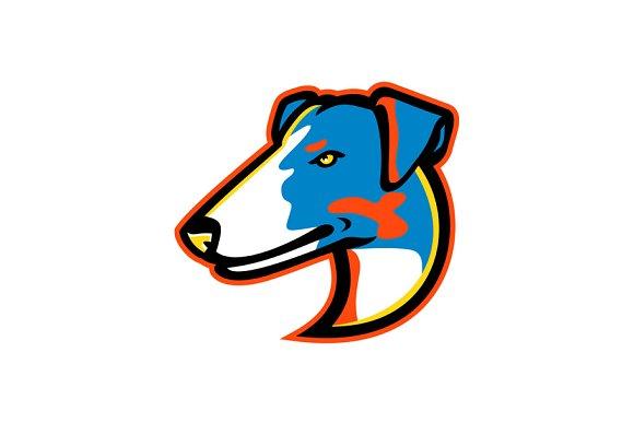 Smooth Fox Terrier Mascot