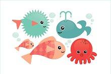 fish vector/illustration