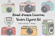 Hand drawn Vector Camera Images