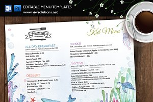 Restaurant kid menu-id35
