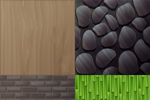 Set of textures for interior