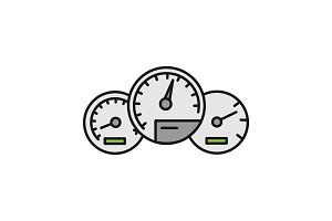 Dashboard color icon