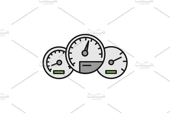 Dashboard Color Icon