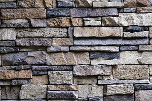 Stone brick texture background