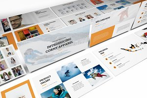 Apparel Product Launching Powerpoint