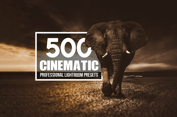 Cinematic 500 Lightroom Presets