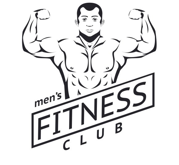 Mens fitness logo ~ Graphics ~ Creative Market