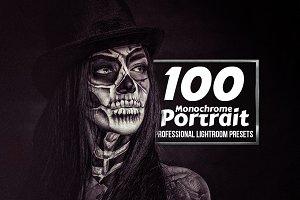 Monochrome Portrait - 100 Lr Add