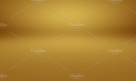 Abstract Luxury Gold Yellow Gradient Studio Wall Well Use As Background Layout Banner And Product Presentation