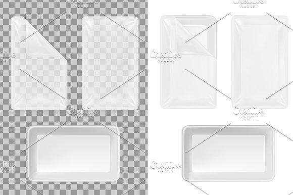 Transparent Plastic Container