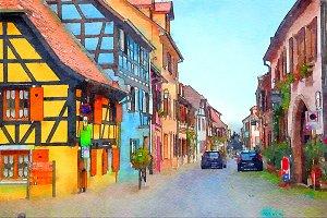 Bergheim, Strasbourg region