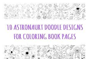10 cute Astronaut illustrations