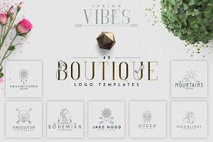 [Spring Vibes] 40 Boutique Logos-66%