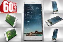 Bundle Samsung Galaxy S6 Edge Mockup