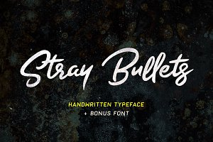 Stray Bullets - Handwritten font