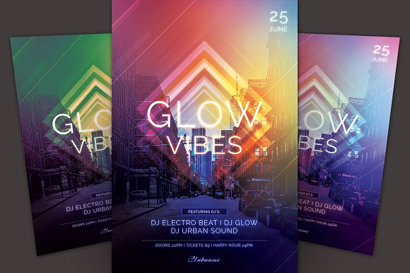 Glow Vibes Flyer