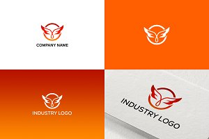 Wings Logo Design for Business