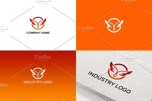 Wings Logo Design For Business