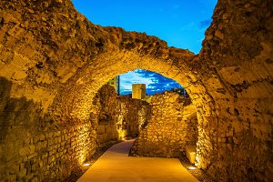Roman walls of Tarragona - Catalonia, Spain