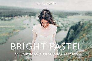 BRIGHT PASTEL PRESETS LR//PS