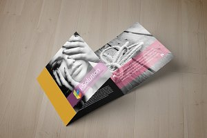 Stylish Square Tri Fold Brochure