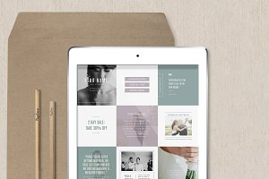 Instagram Templates - PSD Designs