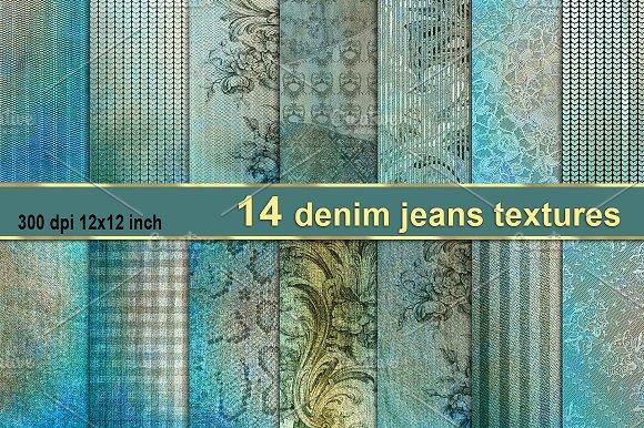 Vintage Denim Jeans Texture
