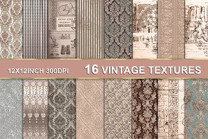 VINTAGE TEXTURE BACKGROUNDS