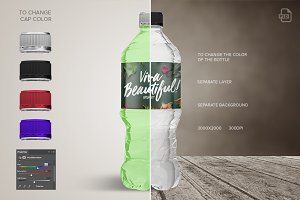 Bottle Water Mockup