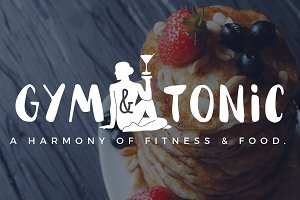Gym / Fitness / Health / Food Logo 2
