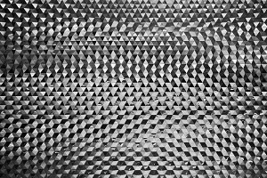 Hexagon metal wall texture backgroun