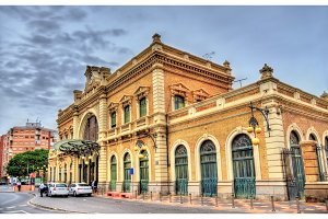 Train station of Cartagena, Spain
