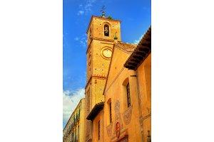 Church of Santiago Apostol in Malaga, Spain