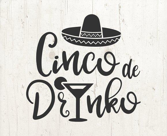 Cinco De Drinko Mayo SVG Files