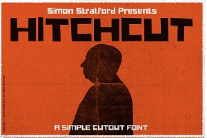 Hitchcut Display font