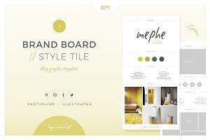 Brand Board / Style Tile 1