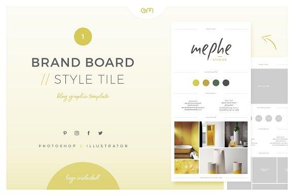 Brand Board Style Tile 1