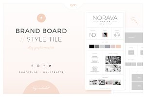 Brand Board / Style Tile 2