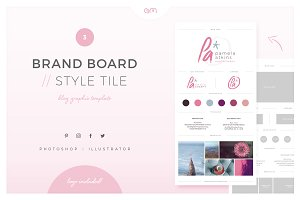 Brand Board / Style Tile 3