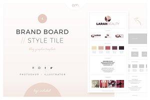 Brand Board / Style Tile 4