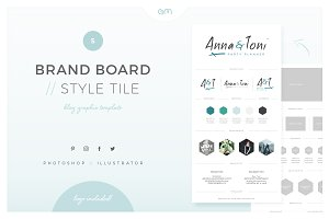 Brand Board / Style Tile 5